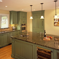 Traditional Kitchen by Walden & Co. (formerly Sonoma Vintage Cabinets)