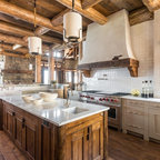 Ranch Rustic Kitchen Houston By Thompson Custom Homes
