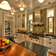 Craftsman Kitchen by Sheffield Construction Company, Inc