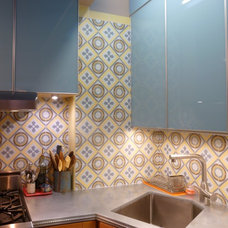 Eclectic Kitchen by Avente Tile