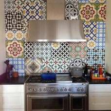 Contemporary Kitchen by Cement Tile Shop