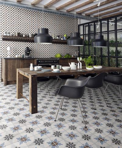 Industrial  Küche by Arizona Tile