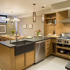 Contemporary Kitchen by Hanson General Contracting, Inc.