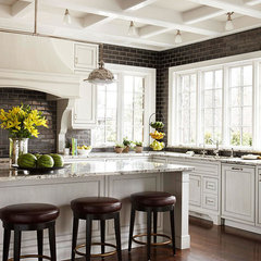 traditional kitchen by OTM Designs & Remodeling Inc