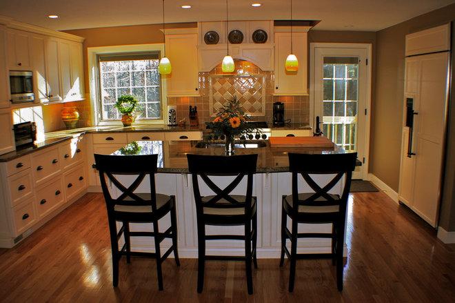 Mediterranean Kitchen by Artisan Kitchens LLC