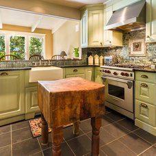 Traditional Kitchen by Canton Custom Homes