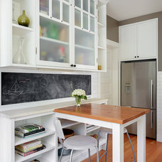 Transitional Kitchen by MAKE Design Studio
