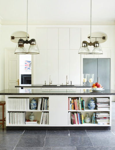 Contemporary Kitchen by Paolo Moschino for Nicholas Haslam Ltd