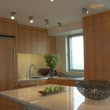 Modern Kitchen by David Yum Architects