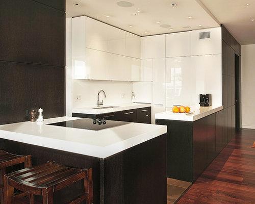 White Corian Countertop Home Design Ideas Pictures