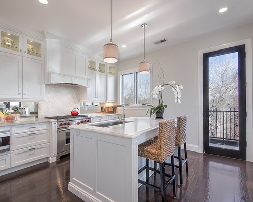 White Kitchen Hood white range hood | houzz