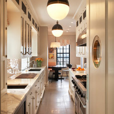 Transitional Kitchen by David Scott Interiors