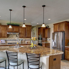 Traditional Kitchen by Housing & Building Association of Colo. Springs