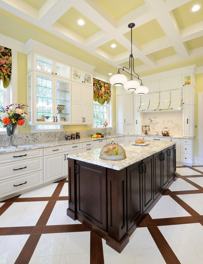 Transitional Kitchen By Marcia Moore Design