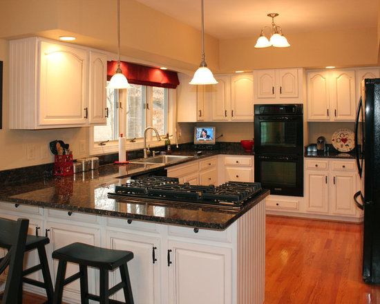 Kitchen Cabinets Refacing Before And After refacing cabinets before after | houzz