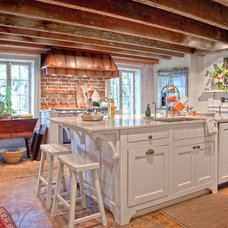 Farmhouse Kitchen by Charleston Home + Design Mag