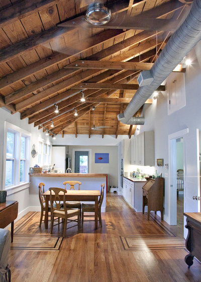 American Traditional Kitchen by Charleston Home + Design Mag