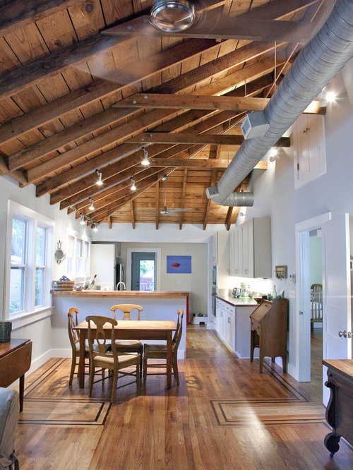kitchen ceiling designs pictures exposed air conditioning ducts houzz 6508