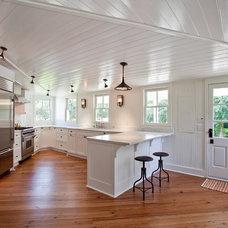 Beach Style Kitchen by Charleston Home + Design Mag
