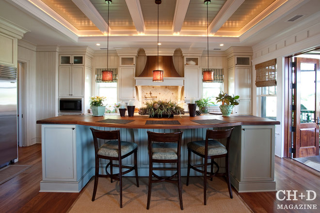 Traditional Kitchen by Charleston Home + Design Mag