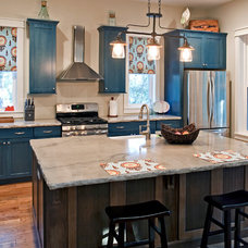 Eclectic Kitchen by Charleston Home + Design Mag