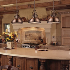 Traditional Kitchen by We Got Lites