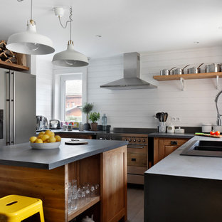 Photo of a rustic kitchen in London.