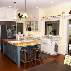 Traditional Kitchen by Hudson Street Design