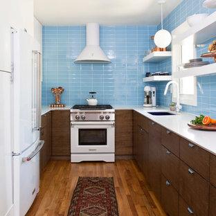 75 Beautiful Midcentury Modern Kitchen Pictures & Ideas | Houzz