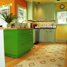Eclectic Kitchen by Orlando Construction Inc.