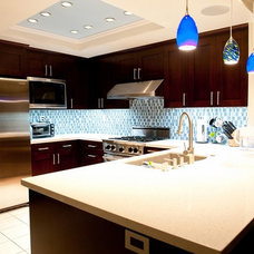 Contemporary Kitchen by Quality Bath