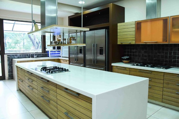 Transitional Kitchen by Maison Du Luxe