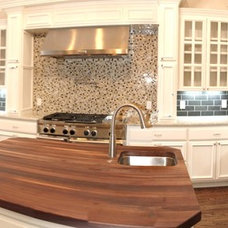 Eclectic Kitchen by Homes of Distinction, Inc.