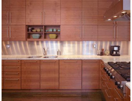Contemporary Kitchen by Chapman Architects