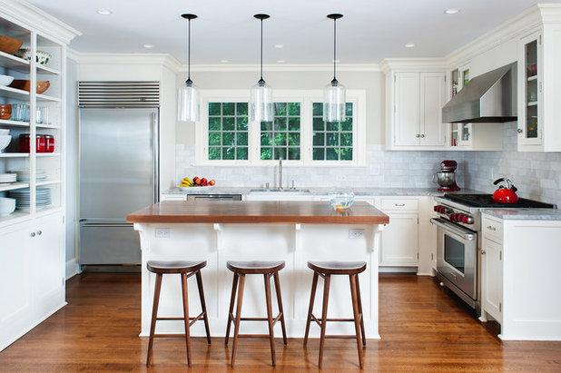 Transitional Kitchen by Fivecat Studio | Architecture