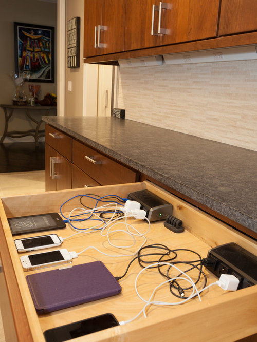 Charging Drawer Home Design Ideas Pictures Remodel And Decor