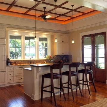 Charleston Coastal Cottage Kitchen