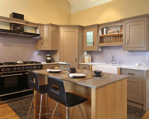 Corner pantry houzz - Corner kitchen pantry ...