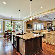 Traditional Kitchen by creative designs llc