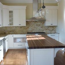 Traditional Kitchen by Regina Steverson...Space Planning..Kitchen Design