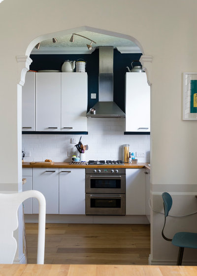 Contemporary Kitchen by Farrow & Ball