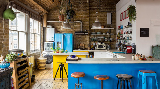 Eclectic Kitchen by Roushka Boyd