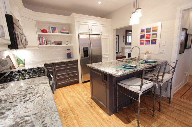 Eclectic Kitchen by KMSalter Design