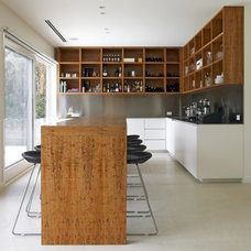 modern kitchen by Robson Rak Architects Pty Ltd