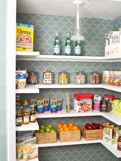 In-wall Pantry   Houzz