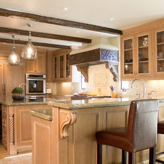 mediterranean kitchen by Charmean Neithart Interiors, LLC.