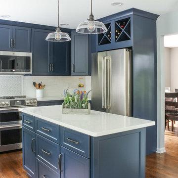 Charming Blueberry Kitchen