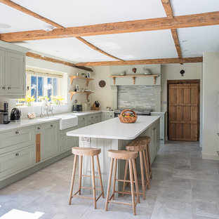 Charming Farmhouse Kitchen
