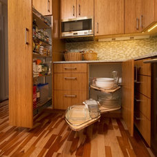 Transitional Kitchen by A D Construction - Building & Design
