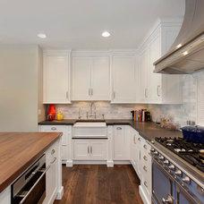 Transitional Kitchen by Abruzzo Kitchen & Bath